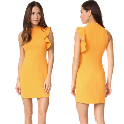 Sleeveless Elegant Office Dresses For Lady